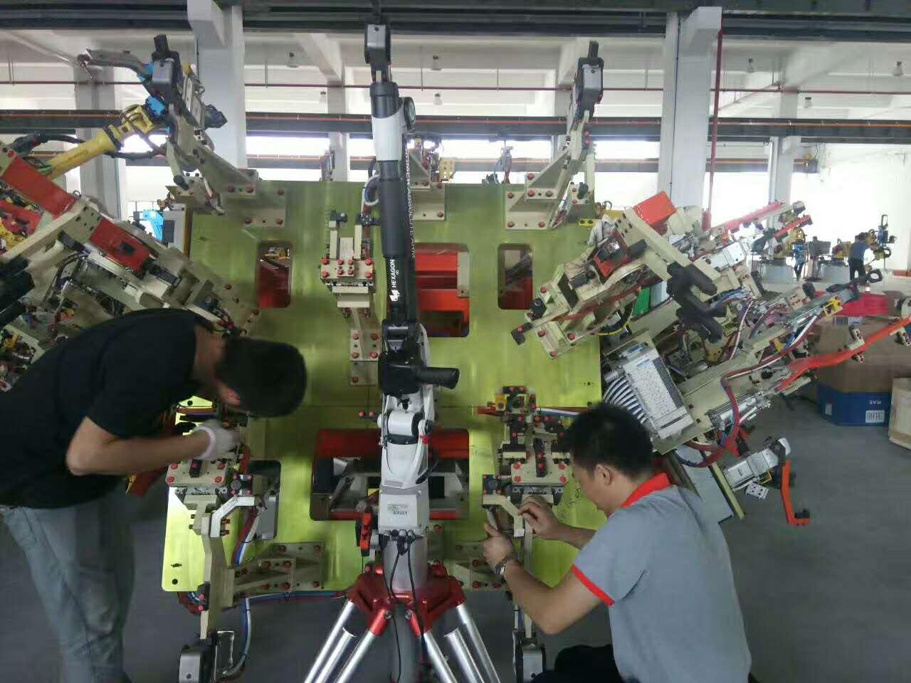 机器人工装检测